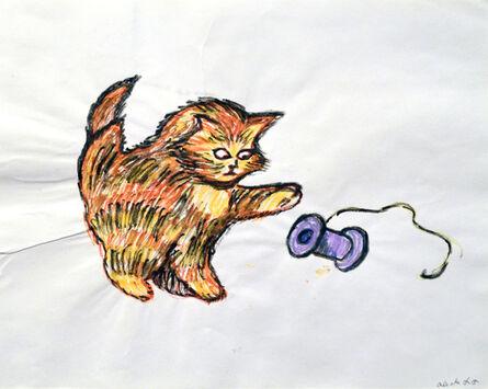 A. Lutz, 'Cat & Spool', 2015