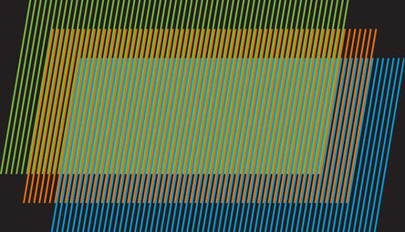 Carlos Cruz-Diez, 'Color Aditivo Poyoronk', 2011