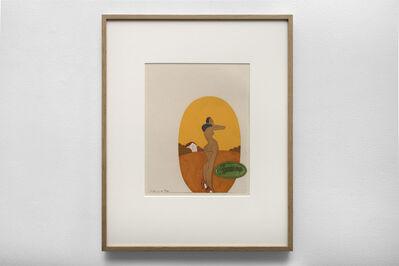 Ken Price, 'Carmen (Study for Oval Plate)', 1974