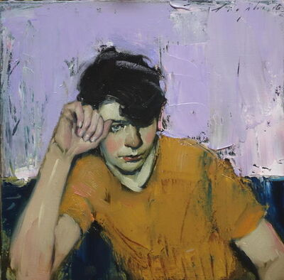 Malcolm T. Liepke, 'Resting on Hand', 2017