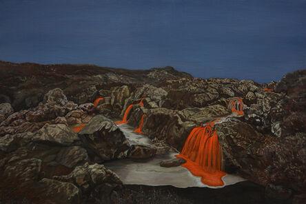 Li Donglu, 'Waterfall', 2018