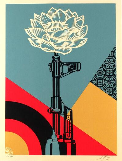 Shepard Fairey, 'AR 15 Lotus', 2021
