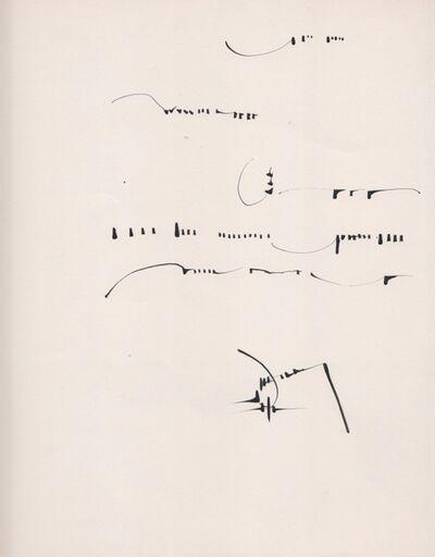 Mirtha Dermisache, 'Sin titulo. Carta', 1970
