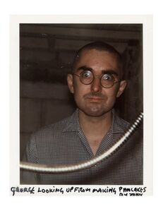 John Lennon, 'Portrait of George Maciunas', 1971