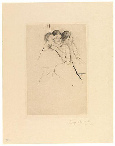 Mary Cassatt, 'Mother Berthe Holding Her Child', ca. 1889