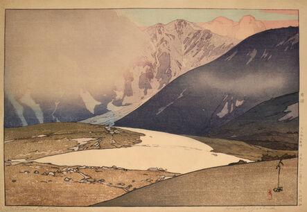 Yoshida Hiroshi, 'Tateyama Betsuzan', 1926