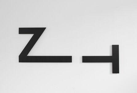Josef Bauer, 'Zeit', 1981-2007