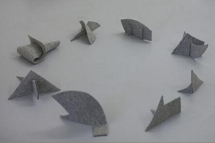Ana Mazzei, 'Peixes voadores', 2014