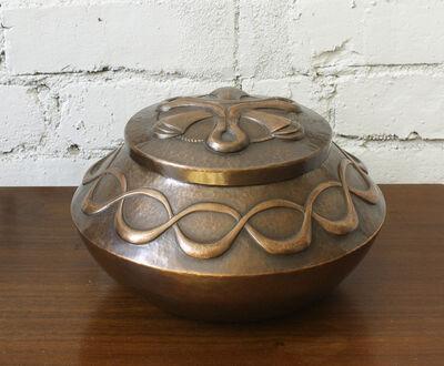 Carson Sio, 'Lidded Copper Vessel', 2020