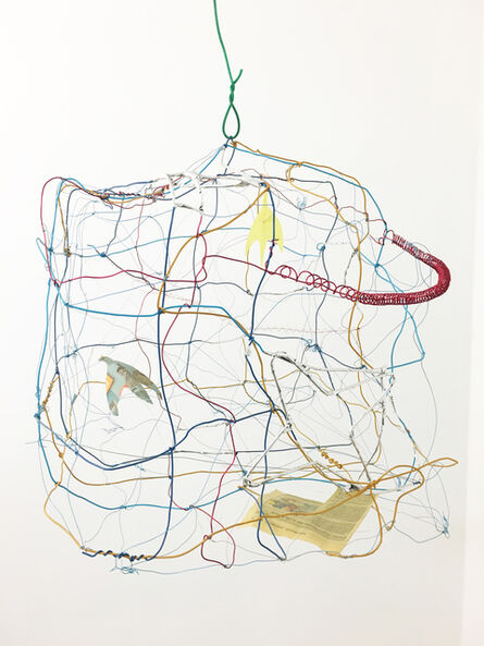 Pae White, 'Untitled (birdcage)', 2004