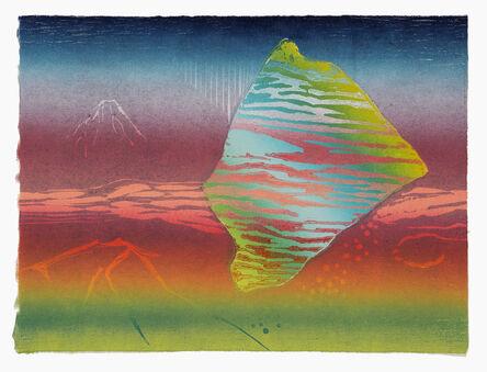 Cathie Crawford, 'Homage To Hokusai', 2016