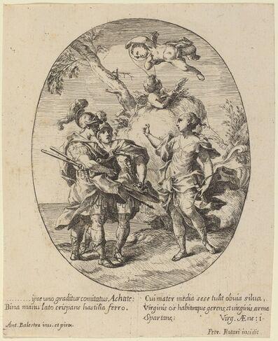 Pietro Rotari after Antonio Balestra, 'Venus Appearing to Achilles', 1725