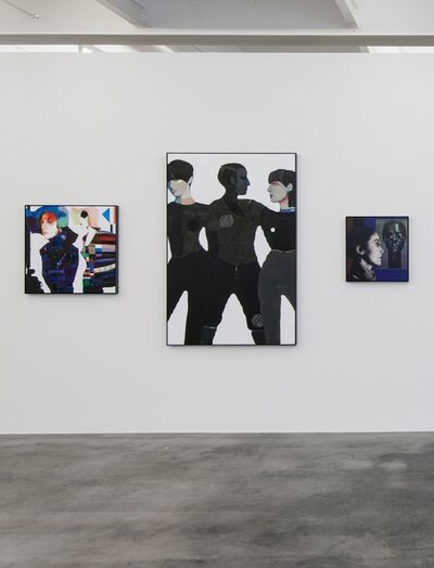 Lothar Hempel, 'Weisse Stadt // Die drei Frauen // Ace', 2013