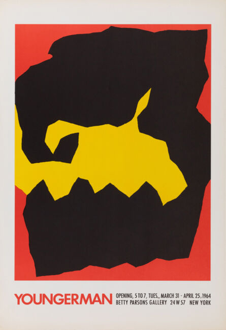 """Jack Youngerman, 'Betty Parsons Gallery, """"Youngerman""""', 1964"""