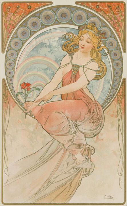 Alphonse Mucha, 'Painting', 1898
