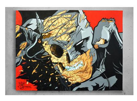 "GONDEKDRAWS ""Matt Gondek"", 'Batman Deconstructed', 2017"