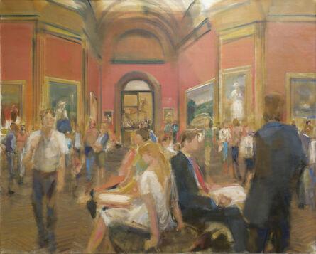 Simon Nicholas, 'National Gallery III', 2014