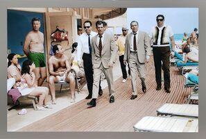 Terry O'Neill, 'Frank Sinatra, Miami Boardwalk  - LIGHT BOX', 1968