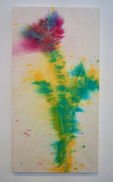 Sam Falls, 'Untitled (Hartland, VT, Tiger Lilies Rain Painting 1)', 2013