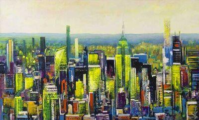 Ulpiano Carrasco, 'Sol en Nueva York', 2021