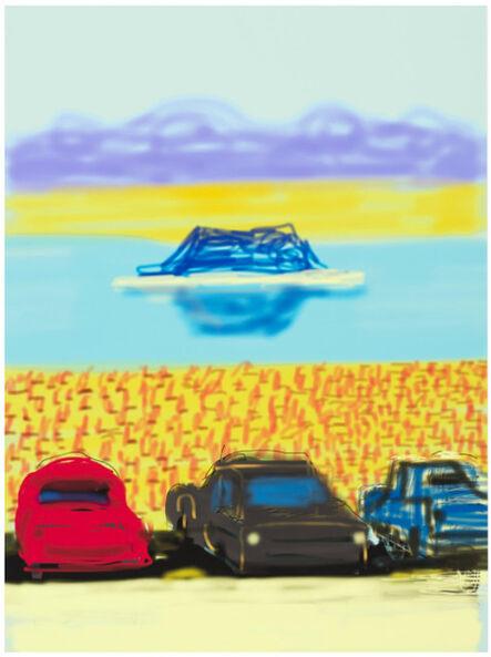 David Hockney, 'The Yosemite Suite 17', 2011