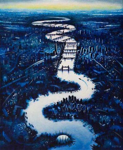 John Duffin, 'Thames Dusk', 2020