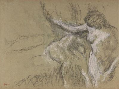 Edgar Degas, 'Deux femmes dans un intérieur', Unknown