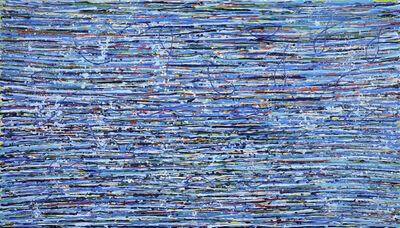 Iris Eshet Cohen, 'Kinetic Blue', 2017