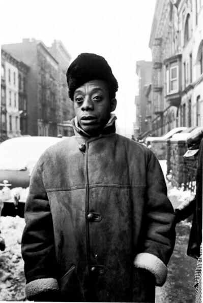 Steve Schapiro, 'James Baldwin, Harlem, New York', 1963