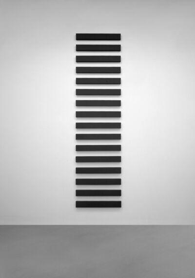 Alan Charlton, '16 Horizontal parts', 1999
