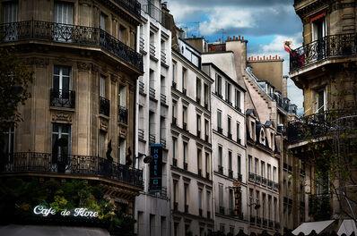 David Drebin, 'Red Dress In Paris', 2013