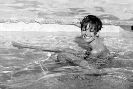 Terry O'Neill, 'Audrey Hepburn in Pool (Lifetime Edition)', 1966