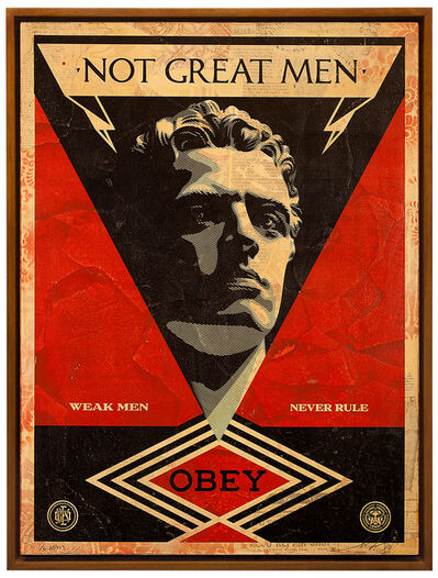 Shepard Fairey, 'Not Great Men', 2013