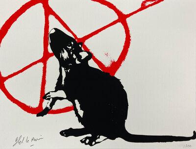 Blek le Rat, 'The Anarchist' (L'Anarchiste)', 2021