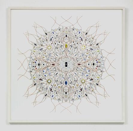 Leonardo Ulian, 'technological mandala 52 _ solaris', 2015