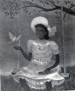 """Doris Lee, '""""The Dove""""', 1951"""