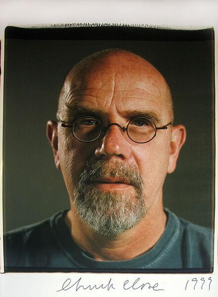 Chuck Close, 'Self-Portrait', 1999