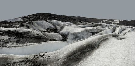 John Ruppert, 'Glacier Crevasse / Svinafellsjokull', 2012-2013