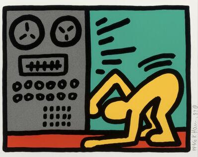 Keith Haring, 'Pop Shop III (D)', 1989