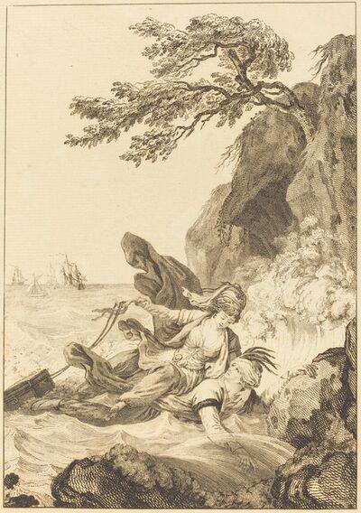 Jean-Baptiste Tilliard after Charles Monnet, 'La fiancee du roi de Garbe: La cassette'