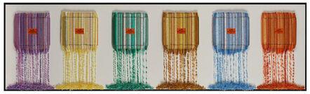 Stephen Wilson, 'Pastel Drips', 2019