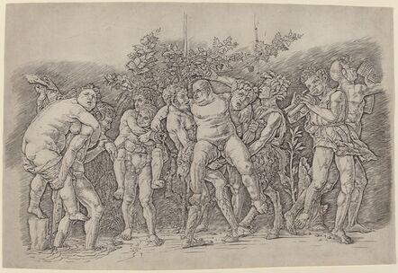 Andrea Mantegna, 'Bacchanal with Silenus', ca. 1475/1480