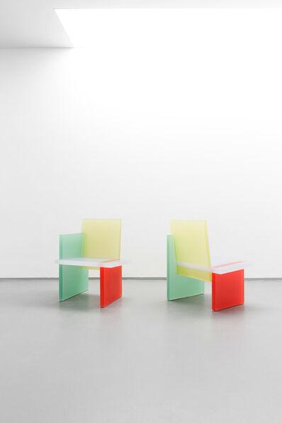 Wonmin Park, 'Haze Armchair (Red, Yellow, Green)', 2013