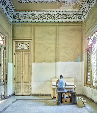 David Burdeny, 'Piano Player,  Havana, Cuba', 2014