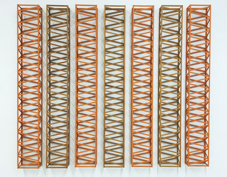 Rasheed Araeen, '(3+4) SR', 1969
