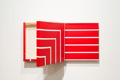 Ana Linnemann, 'Pinturas-degrau (vermelha)', 2015