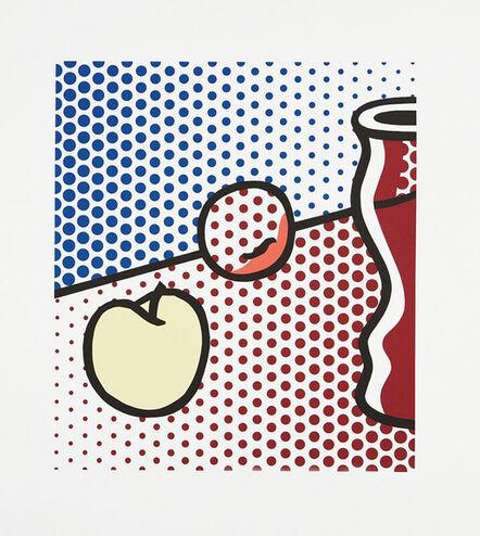 Roy Lichtenstein, 'Still Life with Red Jar', 1994