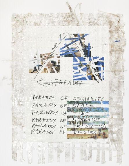 Mikhael Subotzky, 'Sticky-tape Transfer 29 - Zeno's WYE', 2017