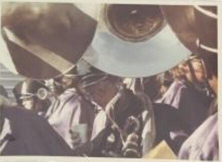 Vivian Maier, 'Untitled, n.d, Thirsty Trombone Player Rare Lifetime print ', n/a