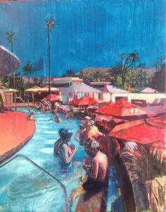 Lucinda Metcalfe, 'Pool Party', 2016